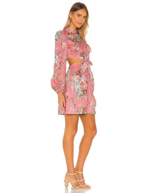 Zimmermann Bellitude ドレス Pink