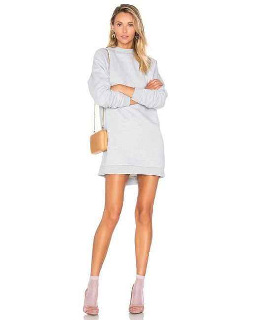 Lovers + Friends - X Revolve Jenn Sweatshirt In Light Gray - Lyst