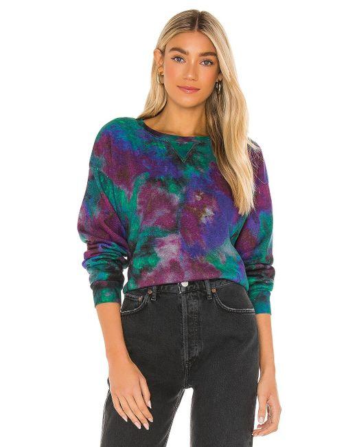 PAIGE Raeanne スウェットシャツ Purple