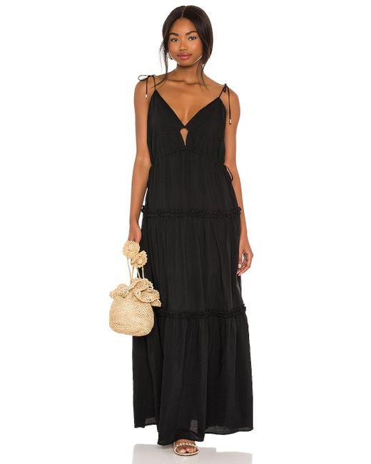 Платье Solana В Цвете Черный Karina Grimaldi, цвет: Black