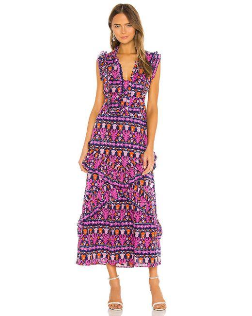brand: Banjanan Donna マキシドレス Purple