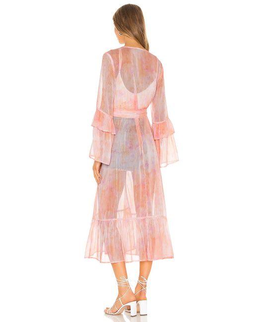 MAJORELLE Pink Poolside Robe