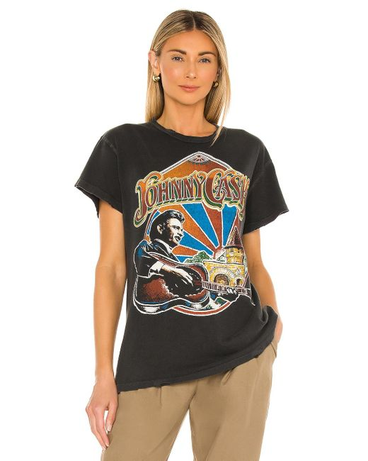 MadeWorn Johnny Cash Tシャツ Multicolor