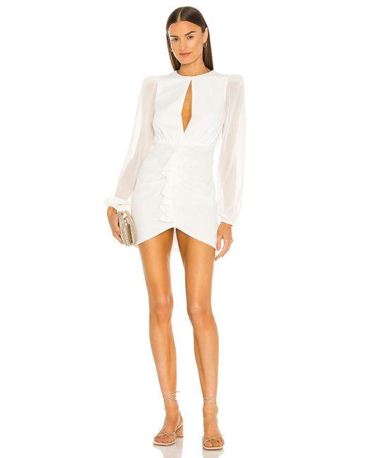 Nbd White Arijana Mini Dress