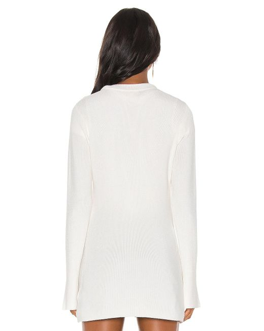 Кардиган Lucas В Цвете Ivory L'Agence, цвет: White