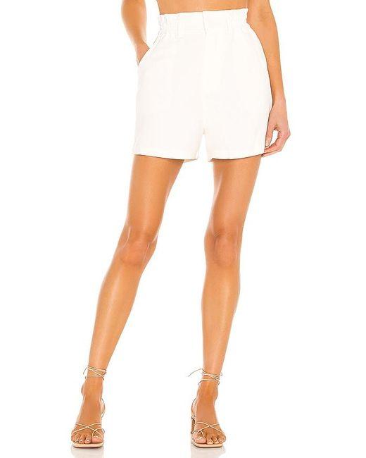 Amanda Uprichard White Beekman Shorts
