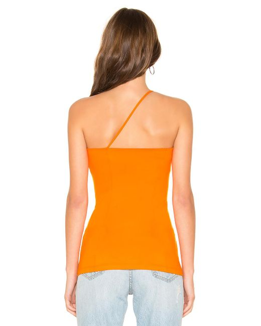 78933dcea01 ... Susana Monaco - Orange Single Strap Top - Lyst ...