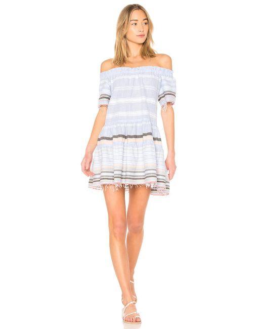 Lemlem - Blue Kal Dress - Lyst