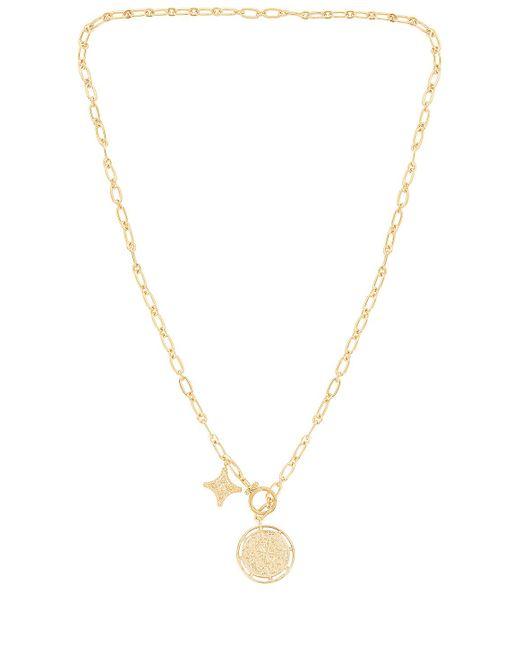 Ожерелье Maya В Цвете Золотой Gorjana, цвет: Metallic