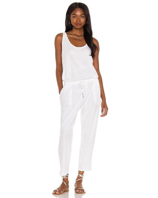 ATM ジャンプスーツ White