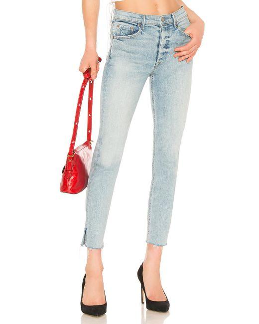 GRLFRND Blue Karolina High-rise Skinny Jean