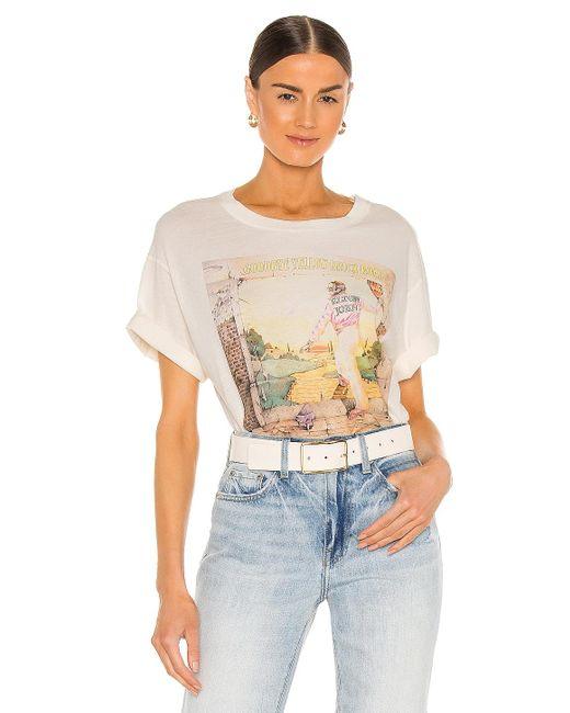 Daydreamer Elton John グラフィックtシャツ White