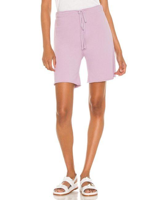Nili Lotan Austin スウェットショートパンツ Pink