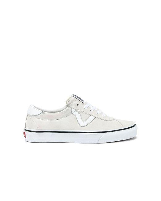 Кроссовки Sport В Цвете Белый Vans, цвет: White