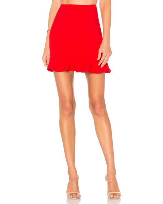 Lovers + Friends - Flamingo Skirt In Red - Lyst