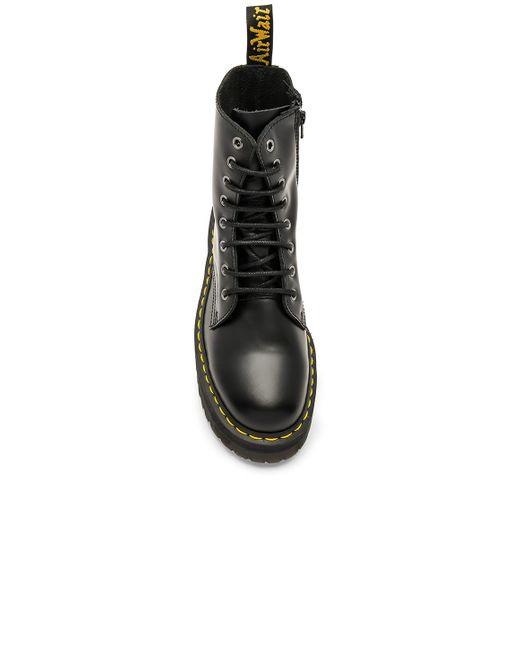Черные Ботинки Из Искусственной Кожи На Платформе -черный Dr. Martens для него, цвет: Black