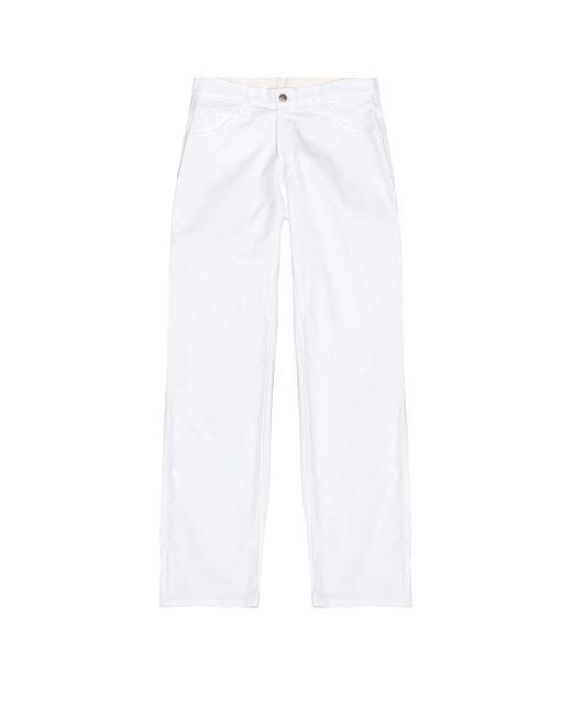メンズ Dickies パンツ White