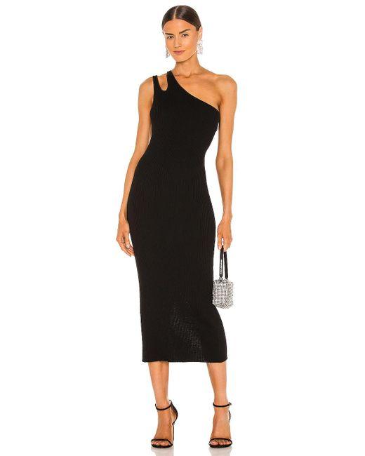 Autumn Cashmere Slash ドレス Black