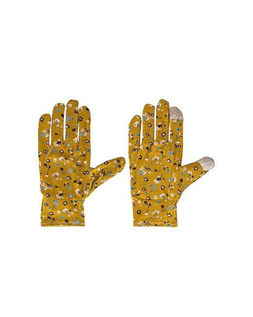 Стирающиеся Перчатки В Цвете Горчичный Lele Sadoughi, цвет: Yellow