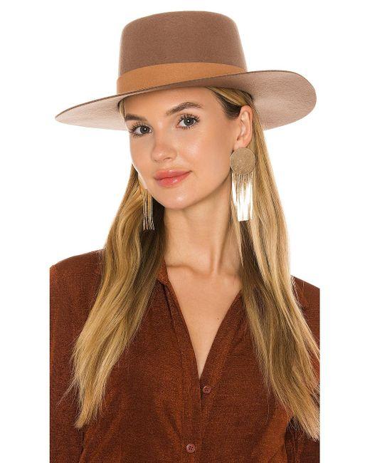 Шляпа Mirage В Цвете Коричневый Lack of Color, цвет: Brown