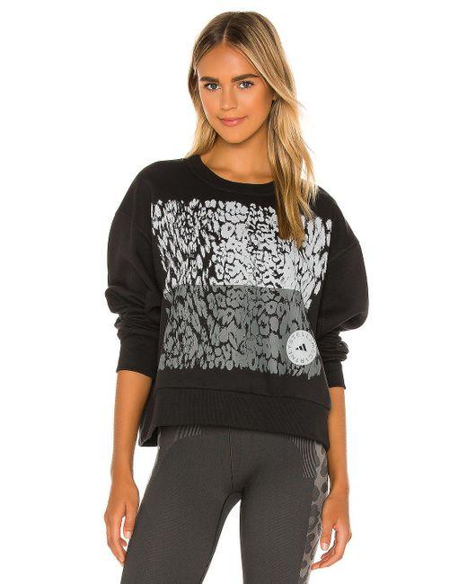 Adidas By Stella McCartney Graphic スウェットシャツ Black