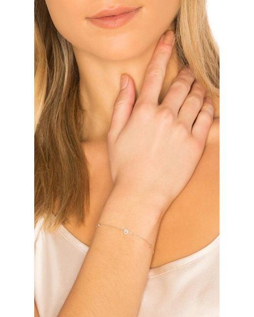 EF Collection - Multicolor Diamond Bezel Teardrop Bracelet - Lyst