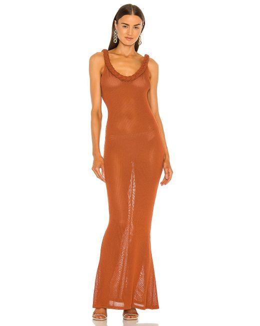 Bronx and Banco Dalia ドレス Orange