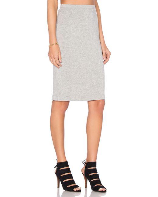 beautiful pencil skirt in gray grey lyst