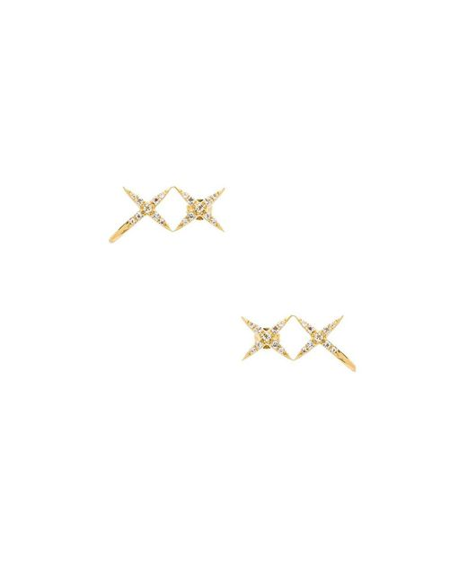 Elizabeth and James | Metallic Vida Ear Cuff | Lyst