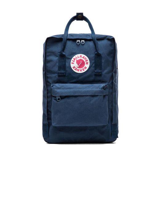 "Fjallraven   Blue Kanken 15"" Laptop Pack   Lyst"