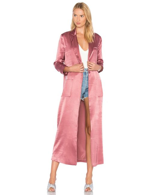 House of Harlow 1960 | Pink X Revolve Cheryl Maxi Coat | Lyst