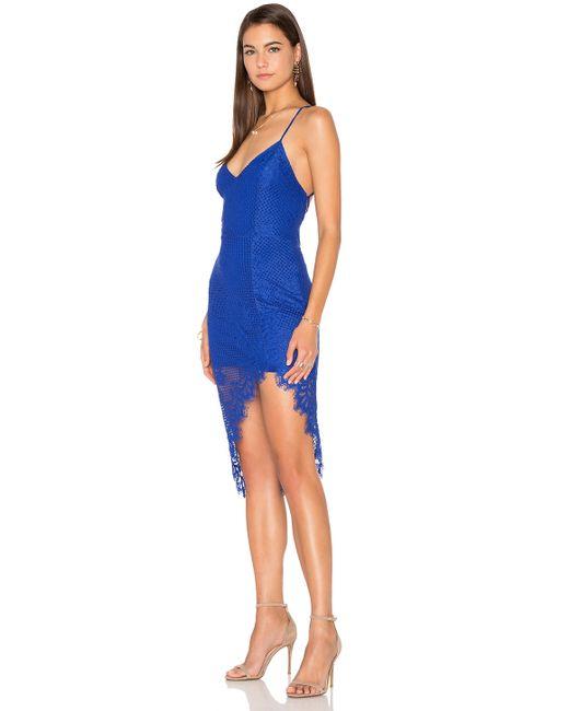 Lovers Friends Skylight Dress In Blue Marine Blue Lyst