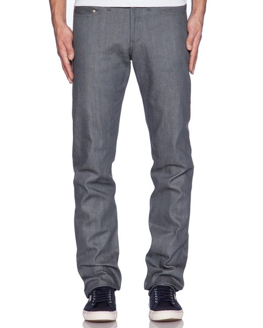 Naked & Famous | Gray Weird Guy for Men | Lyst