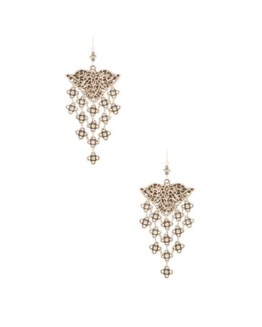Natalie B. Jewelry | Metallic Ceren Earring | Lyst