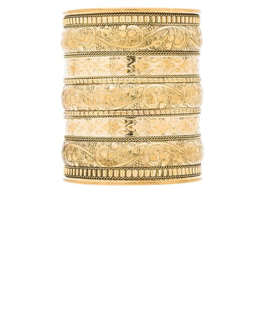 Natalie B. Jewelry | Metallic Azteca Bracelet | Lyst