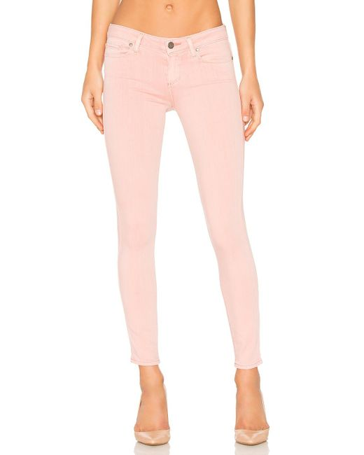 PAIGE | Pink Verdugo Ankle | Lyst
