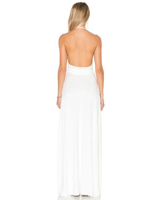 Rachel pally Kaia Maxi Dress in White | Lyst