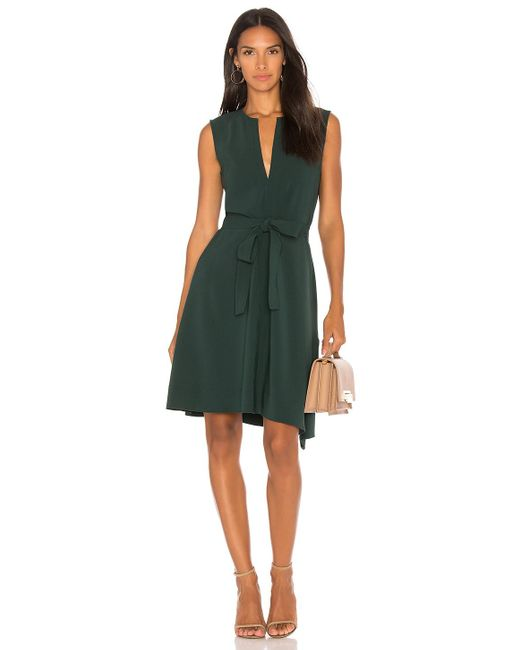 Theory   Green Desza Dress   Lyst