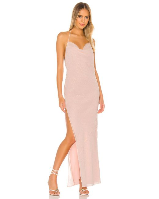 Nbd Pink Nicolette Gown