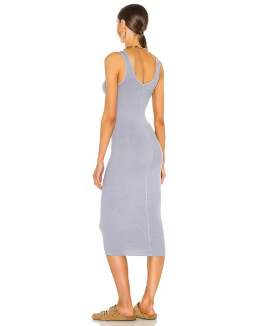 Enza Costa ドレス In Blue. Size M, S, Xs. Purple