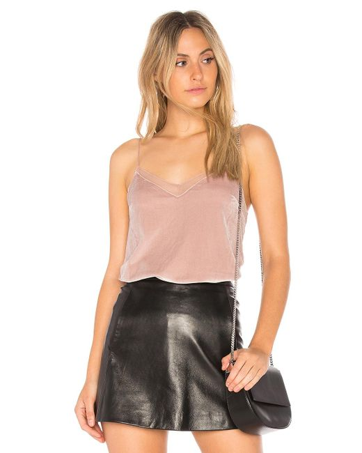 Free People - Multicolor Velvet Solid Tank - Lyst