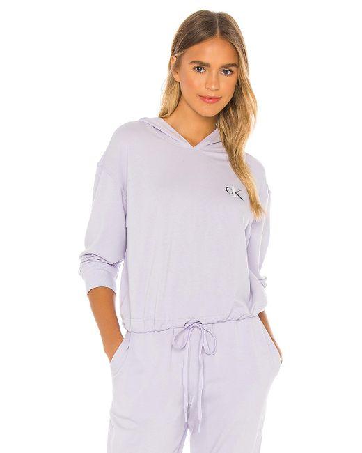 Худи Ck One В Цвете Purple Aurora Calvin Klein