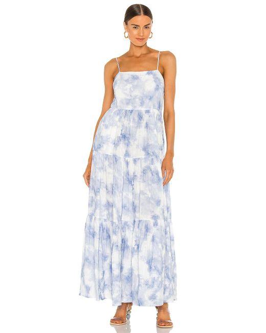 Jonathan Simkhai Clarissa ドレス Blue