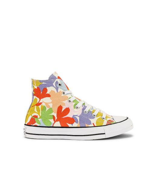 Converse Chuck Taylor All Star Garden Party All-over Print スニーカー. Size 6, 6.5, 7.5, 8, 9.5, 10. Blue