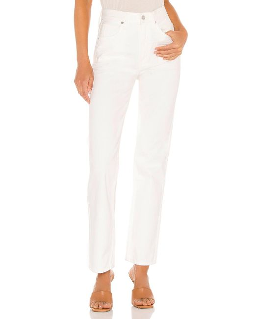 Citizens of Humanity Daphne ストレートレッグ. Size 25, 28, 29, 30. White