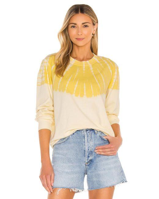 Raquel Allegra Classic スウェットシャツ Yellow