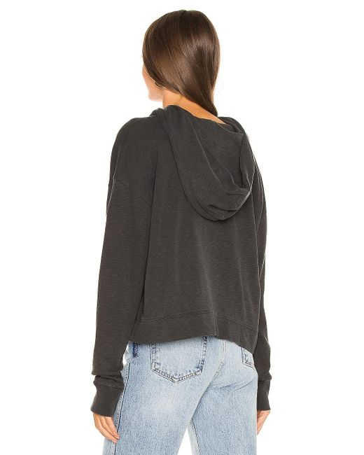 James Perse Relaxed パーカー Black