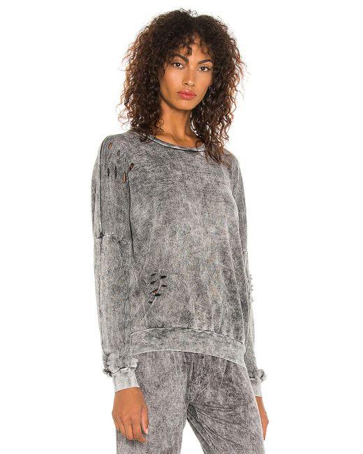 Michael Lauren Gray Rodrigo Vintage Pullover