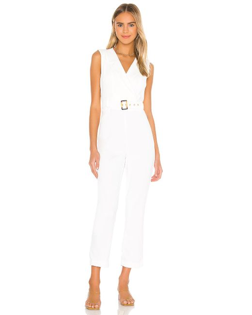 Bardot Zalia ジャンプスーツ White