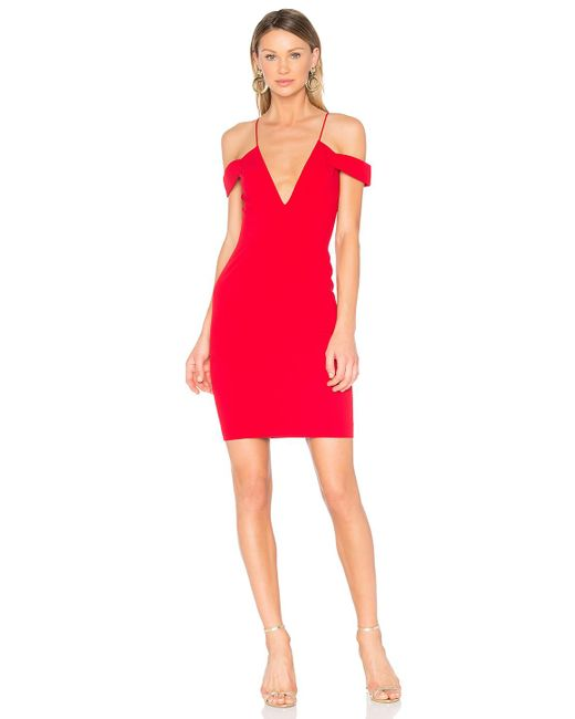 Jay Godfrey - Red Hoy Dress - Lyst